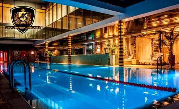 Скидка на Скидка 71% на однодневный гостевой визит для двоих в загородный клуб «Geo-spa-курорт Novahoff»: посещение фитнес-клуба, бассейна, бани и spa-программа