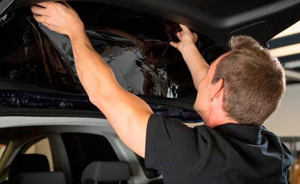 Скидка на Услуги для авто в «Студии тонирования»: тонирование стекол авто по ГОСТу, съемная силиконовая тонировка, бронирование двух передних фар, нанесение защитного покрытия «Антидождь» на стекла и не только. Скидка до 75%