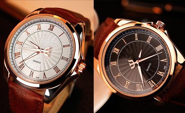 Кварцевые часы унисекс от интернет-магазина Olgoods. Скидка 57%