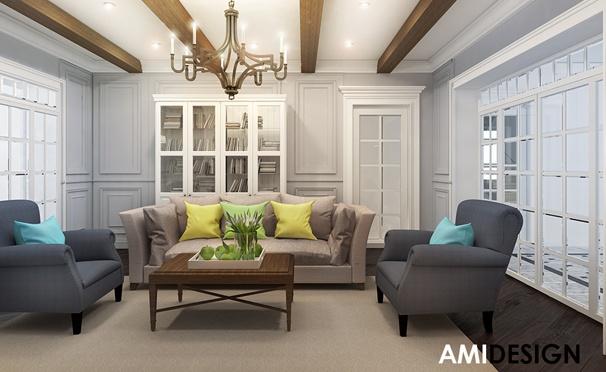 Разработка дизайн-проекта жилого помещения от студии Аmidesign. Скидка 50%
