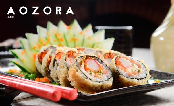 Скидка на Отдых в ресторане Aozora Lounge: любые напитки и блюда из меню кухни. Скидка 50%
