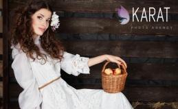 Фотосессия в студии Karat