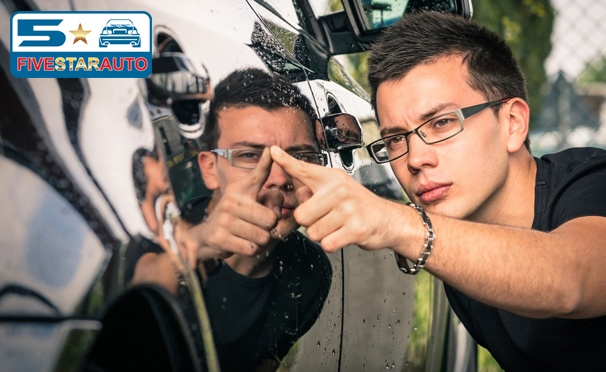 Оклейка крыши, капота или багажника винилом, тонировка стекол или защита кузова антигравийной плёнкой в стайлинг-центре Five Star Auto. Скидка до 78%
