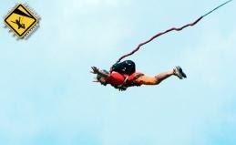 Прыжки с веревкой и камерой GoPro