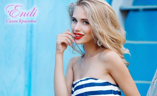 Перманентный макияж век, бровей и губ в салоне красоты Endi. Скидка до 88%