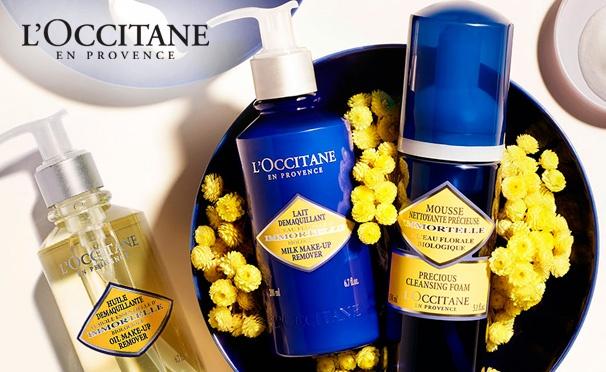 Скидка на Лучшие акции интернет-магазина L'OCCITANE: скидки до 50% на наборы и подарки за заказ!