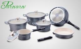 Наборы литой посуды от Parovarov