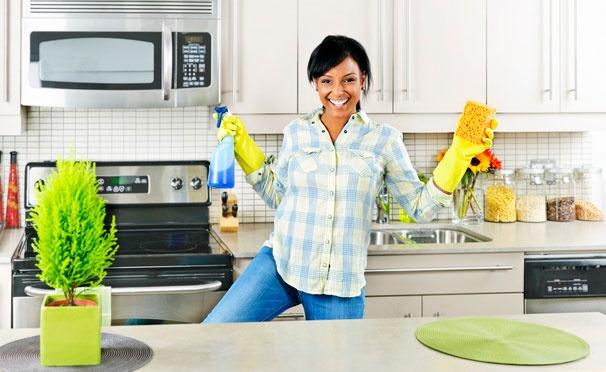 Скидка на Комплексная или генеральная уборка квартир и коттеджей, мытье окон от компании «Чистый дом» со скидкой до 61%
