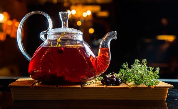 Скидка на Скидка 50% на все меню и напитки в чайной «Тайга» на проспекте Мира: черемуховые блины, мед из дикой липы, десерт «Миндаль не жаль», различные виды чая и кофе и не только!