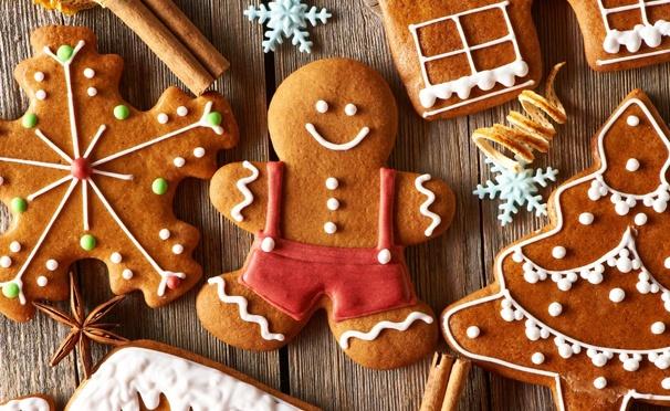 Рождественские печенья фото
