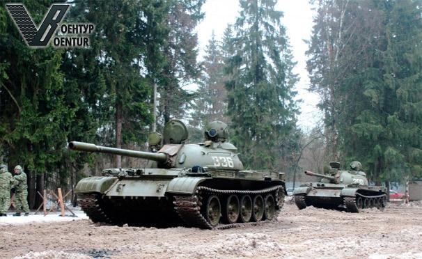Поездка на танках в подарок 49