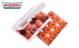 Пончик Krispy Kreme и кофе