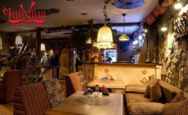 Скидка на Любые блюда и напитки в чайхане «Алайский Базар» на «Площади Ильича» + банкеты для компании до 30 человек! Скидка 50%