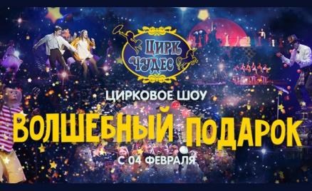 Цирковое шоу «Волшебный подарок»