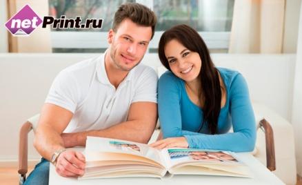 Печать фотокниг от сервиса NetPrint